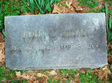BRYAN, JOHN C. - Benton County, Arkansas | JOHN C. BRYAN - Arkansas Gravestone Photos