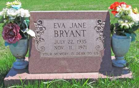BRYANT, EVA JANE - Benton County, Arkansas | EVA JANE BRYANT - Arkansas Gravestone Photos