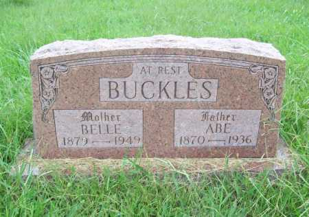BUCKLES, BELLE - Benton County, Arkansas | BELLE BUCKLES - Arkansas Gravestone Photos