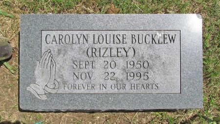 RIZLEY BUCKLEW, CAROLYN LOUISE - Benton County, Arkansas   CAROLYN LOUISE RIZLEY BUCKLEW - Arkansas Gravestone Photos