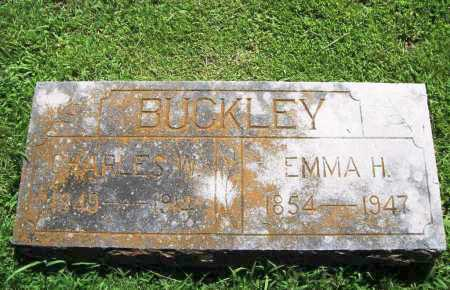 BUCKLEY, EMMA H. - Benton County, Arkansas | EMMA H. BUCKLEY - Arkansas Gravestone Photos