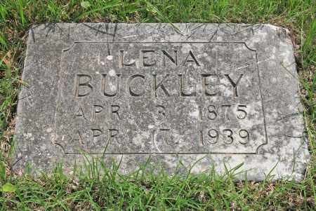 BUCKLEY, LENA - Benton County, Arkansas | LENA BUCKLEY - Arkansas Gravestone Photos