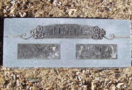 BUELL, JESSE J. - Benton County, Arkansas | JESSE J. BUELL - Arkansas Gravestone Photos