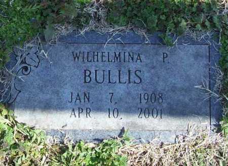 BULLIS, WILHELMINA P. - Benton County, Arkansas | WILHELMINA P. BULLIS - Arkansas Gravestone Photos