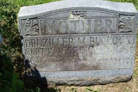 BULLOCK, DRUZILLER M. - Benton County, Arkansas   DRUZILLER M. BULLOCK - Arkansas Gravestone Photos