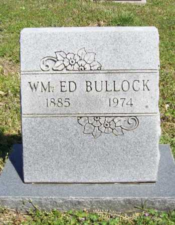BULLOCK, WILLIAM ED - Benton County, Arkansas   WILLIAM ED BULLOCK - Arkansas Gravestone Photos