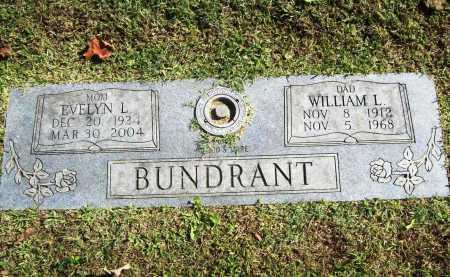 BUNDRANT, WILLIAM L. - Benton County, Arkansas | WILLIAM L. BUNDRANT - Arkansas Gravestone Photos