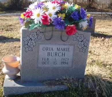 BURCH, ORIA MARIE - Benton County, Arkansas   ORIA MARIE BURCH - Arkansas Gravestone Photos