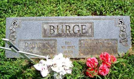 BURGE (VETERAN WWII), DAVID N. - Benton County, Arkansas | DAVID N. BURGE (VETERAN WWII) - Arkansas Gravestone Photos