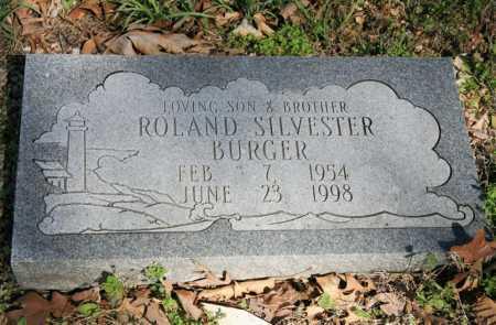 BURGER, ROLAND SILVESTER - Benton County, Arkansas   ROLAND SILVESTER BURGER - Arkansas Gravestone Photos
