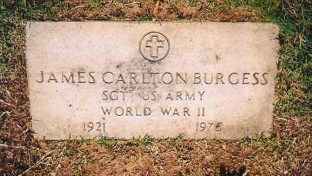 BURGESS (VETERAN WWII), JAMES CARLTON - Benton County, Arkansas | JAMES CARLTON BURGESS (VETERAN WWII) - Arkansas Gravestone Photos