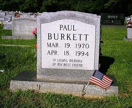 BURKETT, PAUL - Benton County, Arkansas   PAUL BURKETT - Arkansas Gravestone Photos