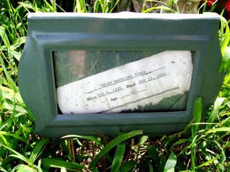 BURKS, HELEN MADELINE - Benton County, Arkansas | HELEN MADELINE BURKS - Arkansas Gravestone Photos