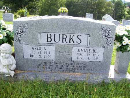 BURKS, ARZOLA - Benton County, Arkansas | ARZOLA BURKS - Arkansas Gravestone Photos