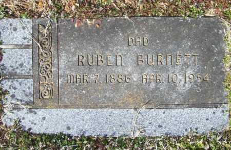 BURNETT, RUBEN - Benton County, Arkansas   RUBEN BURNETT - Arkansas Gravestone Photos