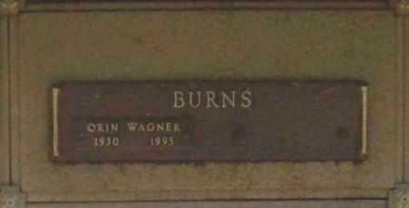 BURNS, ORIN WAGNER - Benton County, Arkansas | ORIN WAGNER BURNS - Arkansas Gravestone Photos