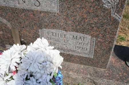 BURNS, ETHEL MAE (2) - Benton County, Arkansas   ETHEL MAE (2) BURNS - Arkansas Gravestone Photos