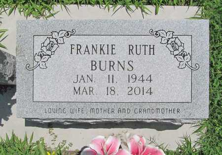 BURNS, FRANKIE RUTH - Benton County, Arkansas   FRANKIE RUTH BURNS - Arkansas Gravestone Photos