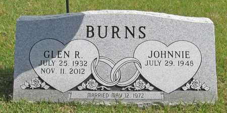 BURNS, GLEN R - Benton County, Arkansas | GLEN R BURNS - Arkansas Gravestone Photos