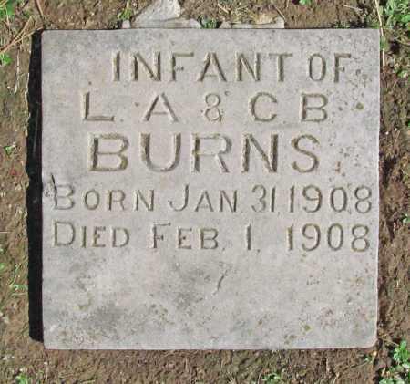 BURNS, INFANT - Benton County, Arkansas | INFANT BURNS - Arkansas Gravestone Photos
