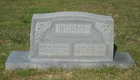 BURNS, JEWELL VIRGINIA - Benton County, Arkansas | JEWELL VIRGINIA BURNS - Arkansas Gravestone Photos