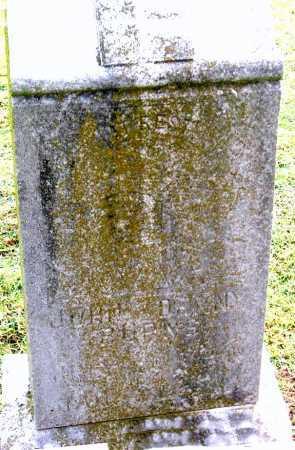 BURNS, JOHN DENNY - Benton County, Arkansas | JOHN DENNY BURNS - Arkansas Gravestone Photos