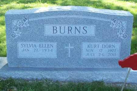 BURNS, KURT DORN - Benton County, Arkansas   KURT DORN BURNS - Arkansas Gravestone Photos