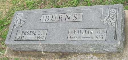 BURNS, WILLIAM O. - Benton County, Arkansas | WILLIAM O. BURNS - Arkansas Gravestone Photos