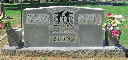 BURNS, JESSIE - Benton County, Arkansas | JESSIE BURNS - Arkansas Gravestone Photos