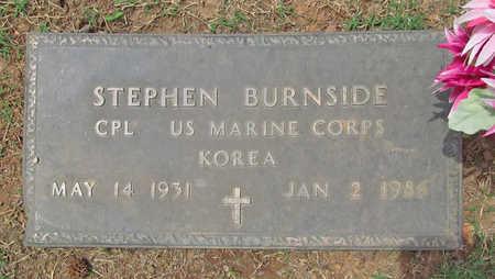 BURNSIDE (VETERAN KOR), STEPHEN - Benton County, Arkansas | STEPHEN BURNSIDE (VETERAN KOR) - Arkansas Gravestone Photos