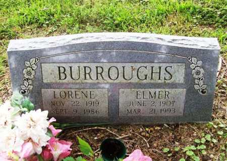 BURROUGHS, LORENE - Benton County, Arkansas | LORENE BURROUGHS - Arkansas Gravestone Photos