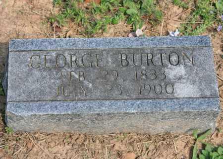 BURTON, GEORGE - Benton County, Arkansas | GEORGE BURTON - Arkansas Gravestone Photos