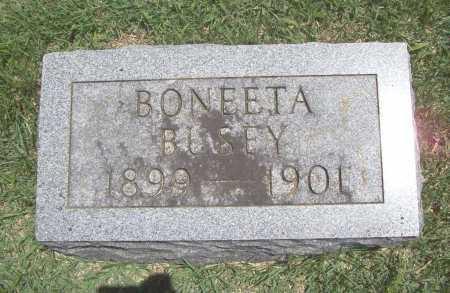 BUSEY, BONEETA - Benton County, Arkansas | BONEETA BUSEY - Arkansas Gravestone Photos