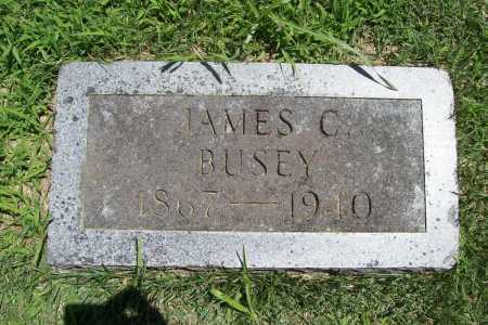 BUSEY, JAMES C. - Benton County, Arkansas | JAMES C. BUSEY - Arkansas Gravestone Photos
