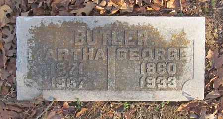 BUTLER, GEORGE - Benton County, Arkansas | GEORGE BUTLER - Arkansas Gravestone Photos