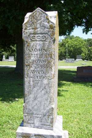BUTTERFIELD, JOHN - Benton County, Arkansas | JOHN BUTTERFIELD - Arkansas Gravestone Photos
