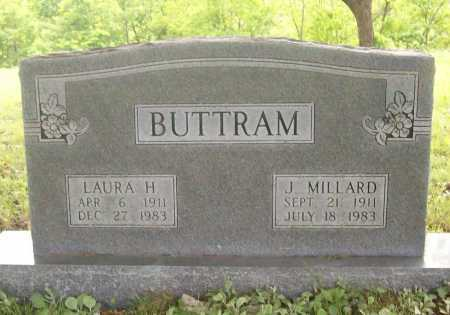 DAY BUTTRAM, LAURA H. - Benton County, Arkansas | LAURA H. DAY BUTTRAM - Arkansas Gravestone Photos