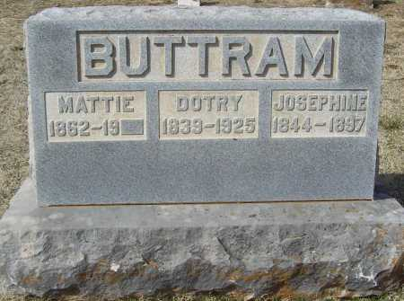 "BUTTRAM, JOSEPHINE ""JOSIE"" - Benton County, Arkansas 