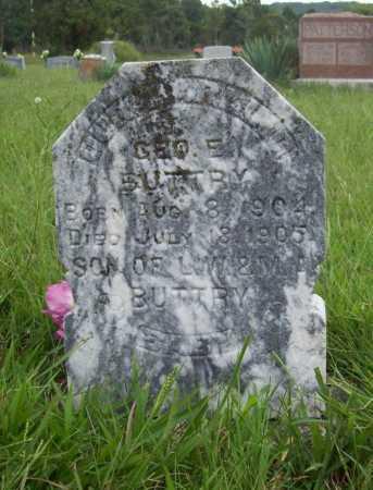 BUTTRY, GEORGE E. - Benton County, Arkansas   GEORGE E. BUTTRY - Arkansas Gravestone Photos