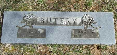 BUTTRY, JOHN W. - Benton County, Arkansas | JOHN W. BUTTRY - Arkansas Gravestone Photos