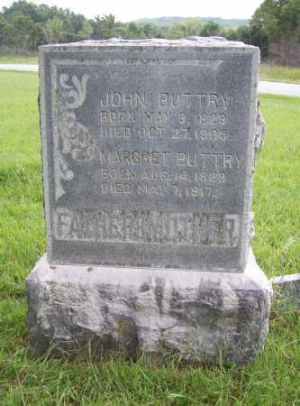 BUTTRY, MARGRET - Benton County, Arkansas | MARGRET BUTTRY - Arkansas Gravestone Photos