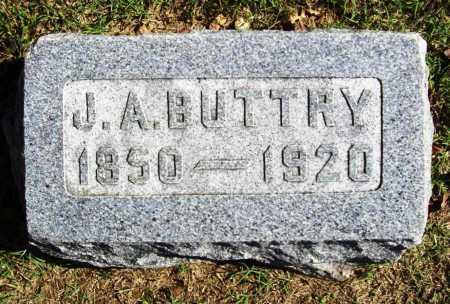 BUTTRY, J. A. - Benton County, Arkansas | J. A. BUTTRY - Arkansas Gravestone Photos