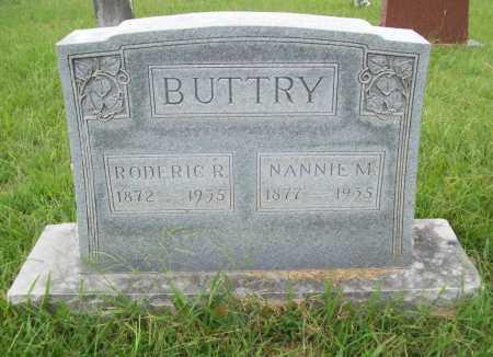 BUTTRY, RODERIC R. - Benton County, Arkansas | RODERIC R. BUTTRY - Arkansas Gravestone Photos
