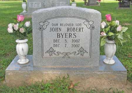 BYERS, JOHN ROBERT - Benton County, Arkansas | JOHN ROBERT BYERS - Arkansas Gravestone Photos