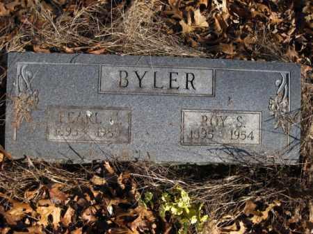 GREEN BYLER, PEARL - Benton County, Arkansas | PEARL GREEN BYLER - Arkansas Gravestone Photos