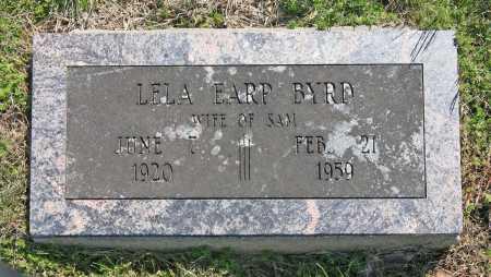BYRD, LELA - Benton County, Arkansas | LELA BYRD - Arkansas Gravestone Photos