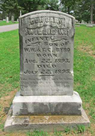 BYRD, WILLIE W - Benton County, Arkansas | WILLIE W BYRD - Arkansas Gravestone Photos
