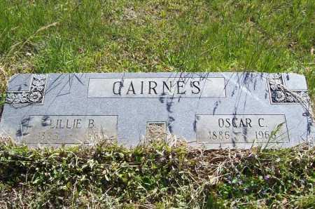 CAIRNES, LILLIE B. - Benton County, Arkansas | LILLIE B. CAIRNES - Arkansas Gravestone Photos