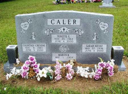 CALER, TONETTE GAY - Benton County, Arkansas | TONETTE GAY CALER - Arkansas Gravestone Photos