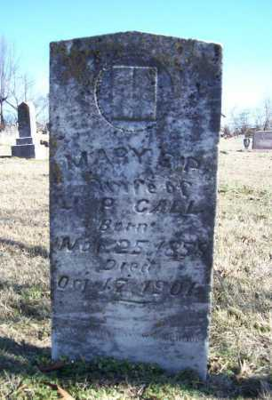 CALL, MARY E. P. - Benton County, Arkansas | MARY E. P. CALL - Arkansas Gravestone Photos